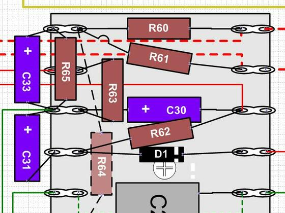 Madamp A15Mk1 to Mk2 conversion - heater layout