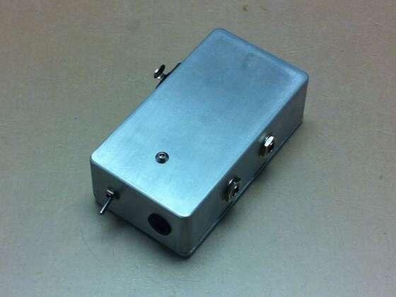 Phantom Power Box für zwei Kanäle inkl. Pre-amp Kabel stereo -> XLR