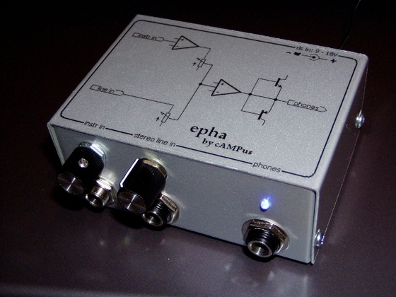 epha headphone amp