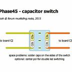Phaser - cap switch