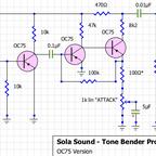 Sola Sound Tone Bender Professional MKII (OC75 version)