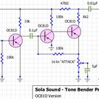 Sola Sound Tone Bender Professional MKII (OC81D Version)