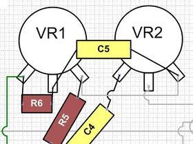 Madamp A15Mk1 to Mk2 conversion - tone stack layout
