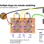 Multiple loops via remote switching